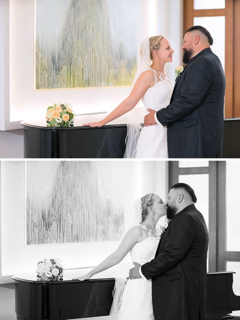 Hochzeitsfotos im Bayer Casino in Leverkusen