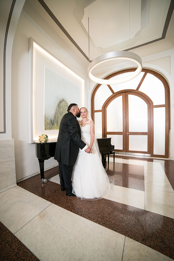 Hochzeitsfotos im Bayer Casino