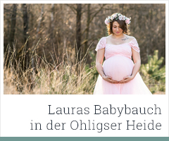 Babybauchfotos Ohligser Heide