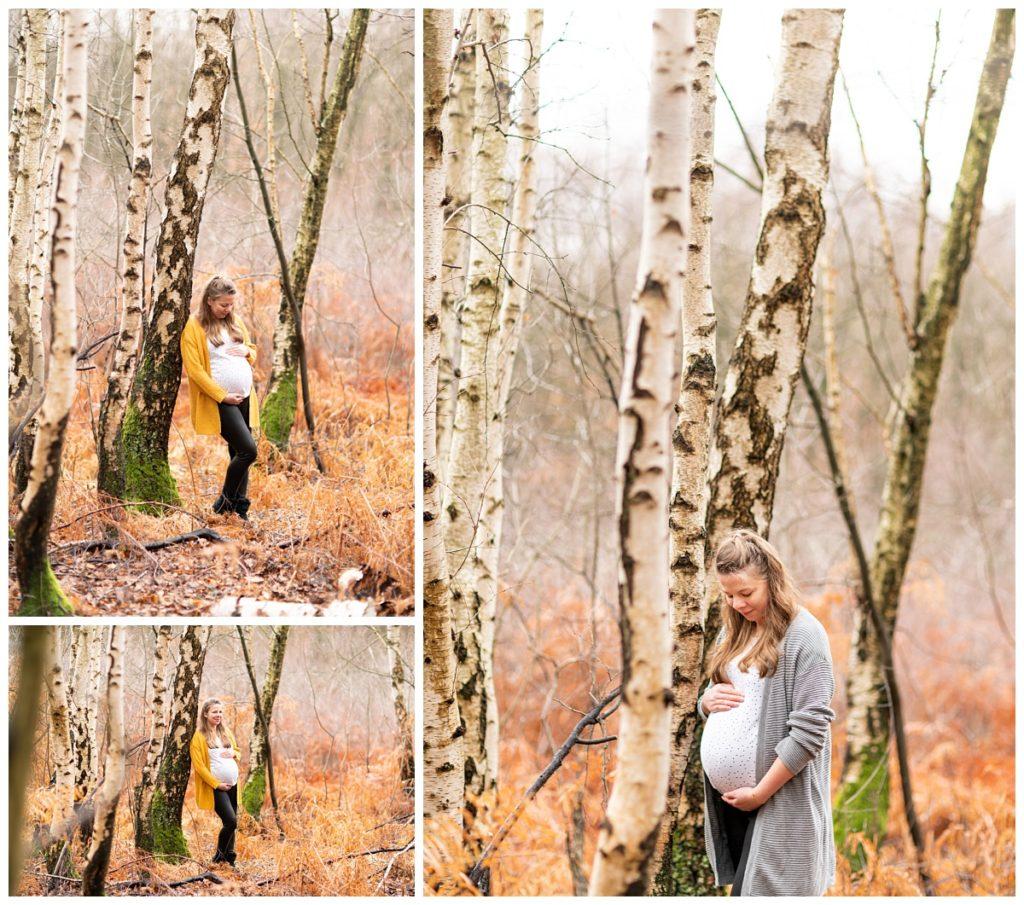 Babybauchfotografie Winter