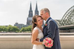 Brautpaar in Köln